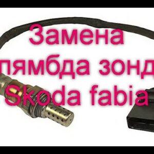 Как заменить лямбда зонт на Skoda Fabia