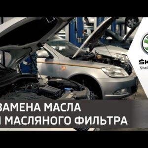 Как заменить моторное масло и масляный фильтр