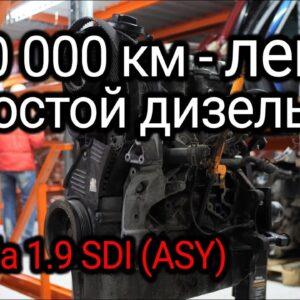 Как двигатель 1.9 SDI пережил пробег в 300.000 км