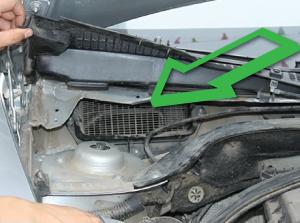 Фильтр в заборник воздуха для Skoda Octavia A5