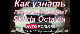 Как узнать реальный пробег Skoda Octavia