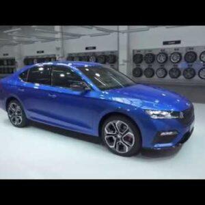 Новая Шкода Октавия RS iV 2020 года