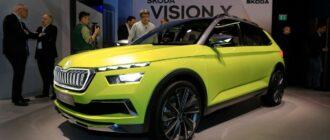 Skoda представила спортивную новинку Vision GT – Skoda Kamiq