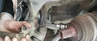Замена переднего подшипника ступицы Skoda Octavia A5 FL