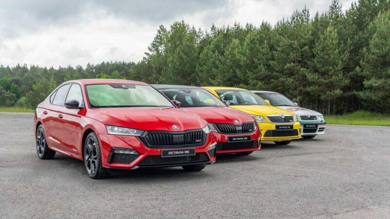 Новое питание Škoda Octavia