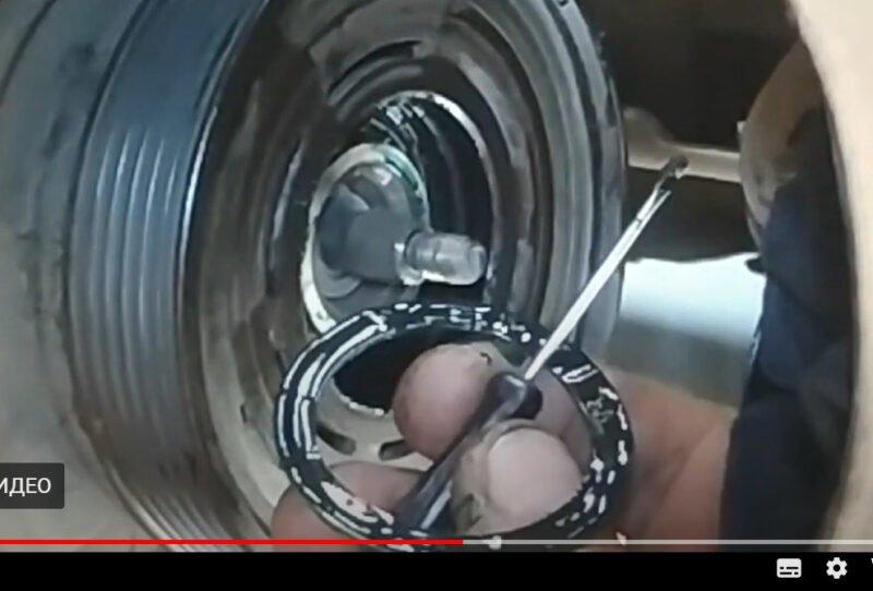 шкив компрессора кондиционера шкода октавия
