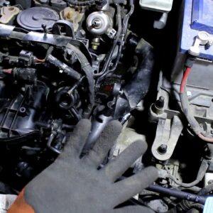 Замена помпы и термостата водяного насоса на Skoda Octavia 1,8 турбо - 2часть