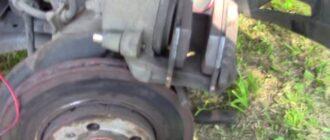 Как поменять тормозные диски Skoda Fabia