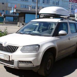 Багажник-бокс на крышу SKODA YETI