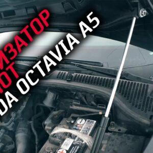 Амортизатор в капот skoda octavia a5, как это работает. ASP